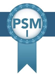 Scrum.org PSM I certification