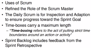 Scrum Guide Changes - Webinar Slide