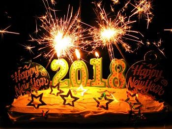 Happy New Year 2018 by frankieleon
