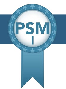 Scrum.org PSM I certification